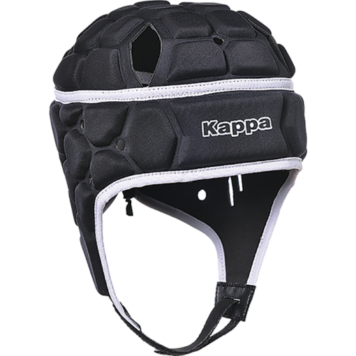 CASQUE KAPPA RUGBY TRIMO NOIR PROTECTION MOUSSE
