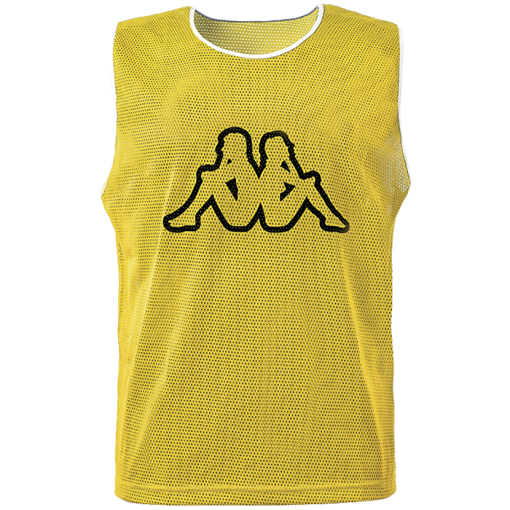 KAPPA chasuble orange sport hand volley foot futsal jaune