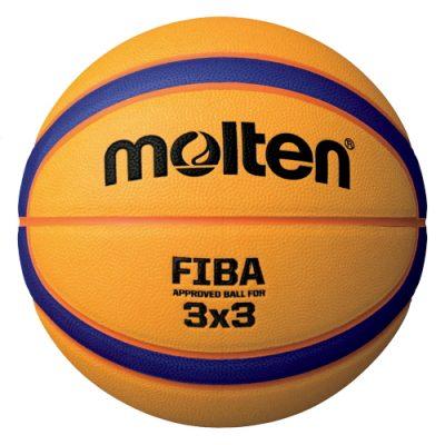 Ballon basket molten 3X3 jaune street