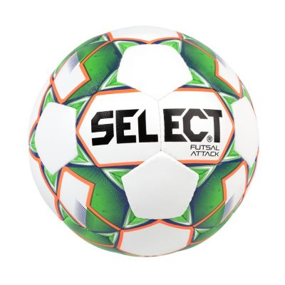 BALLON FUTSAL SELECT attack grain blanc vert