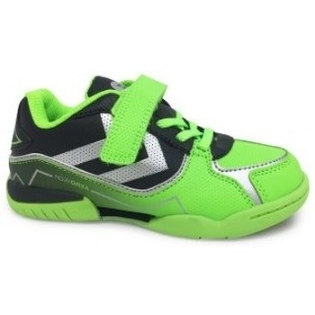 CHAUSSURE JUNIOR GARCON INTERIEUR INDOOR SPORT HAND BASKET VOLLEY FUTSAL HUMMEL SCRATCH