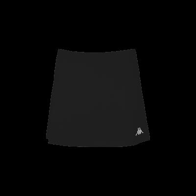jupe noir tennis squash bad kappa lana