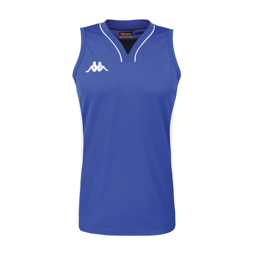 Maillot basket femme bleu nautique kappa caira