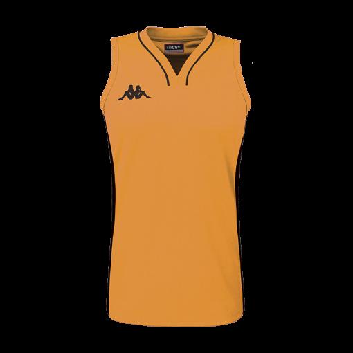 maillot Orange basket femme kappa Caira