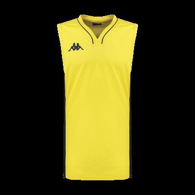Maillot jaune basket kappa