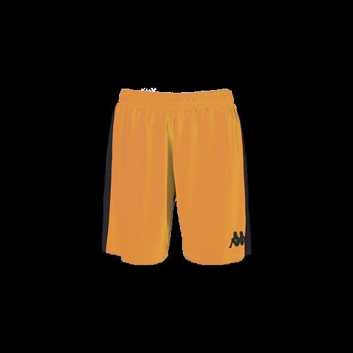 Short basket femme orange kappa Calusa