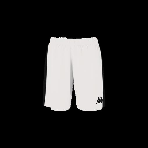 Short basket blanc femme KAPPA Calusa