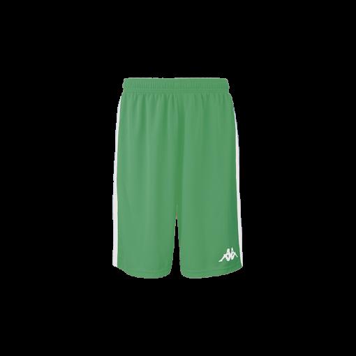 Short basket vert caluso kappa