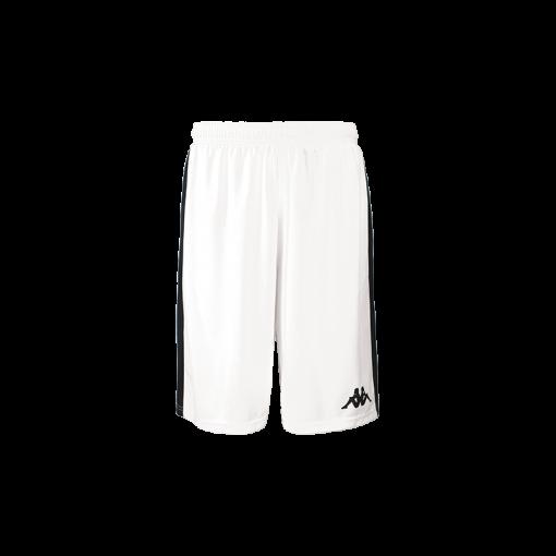Short blanc Caluso basket kappa