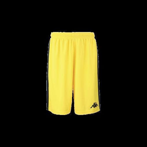 Short jaune Caluso kappa basket