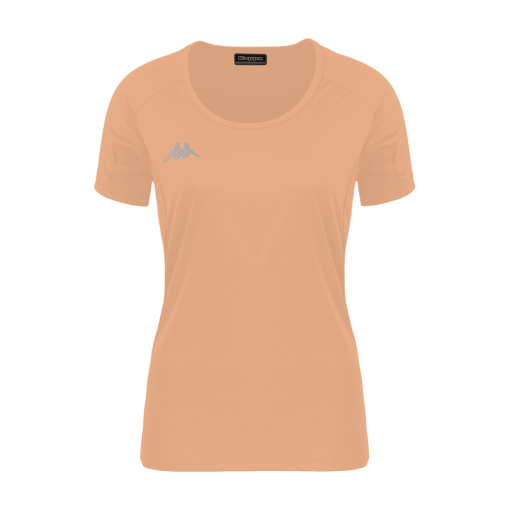 T-shirt orange fluo fania tennis squash kappa