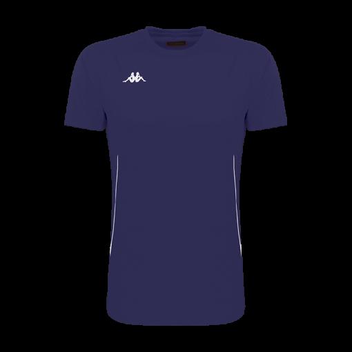 tshirt kappa bleu marine running tennis course à pied kappa