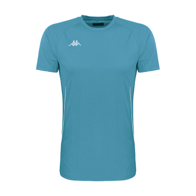T-shirt tennis fanio noir kappa