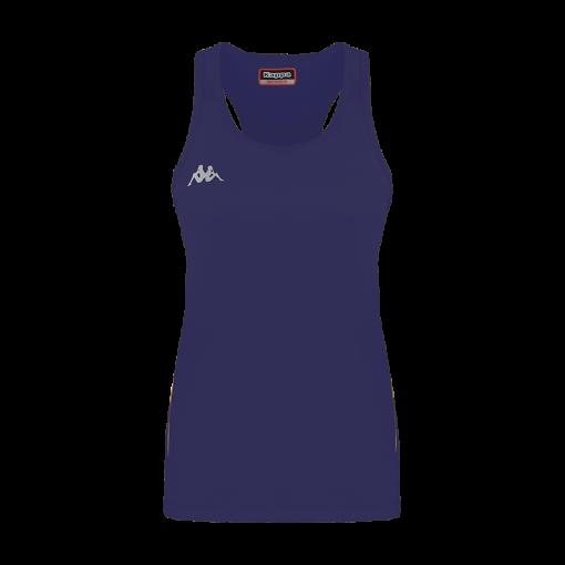 debardeur fanti bleu marine tennis running bad squash kappa