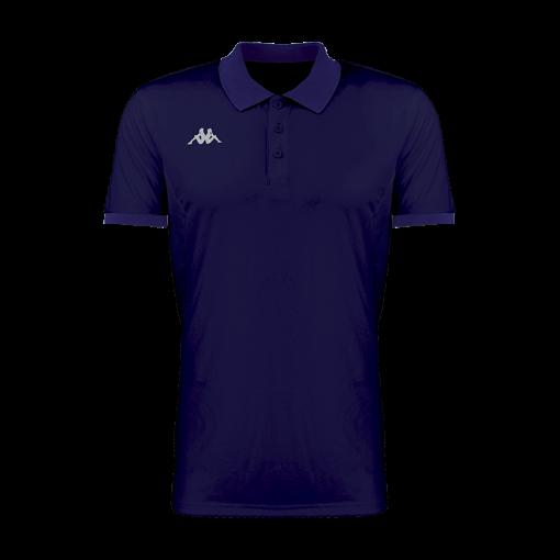 Polo tennis kappa bleu marine faedis