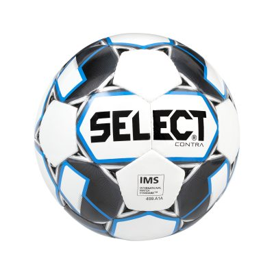 BALLON CONTRA FOOTBALL SELECT BLANC NOIR