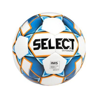 BALLON FOOTBALL DIAMOND BLANC BLEU SELECT