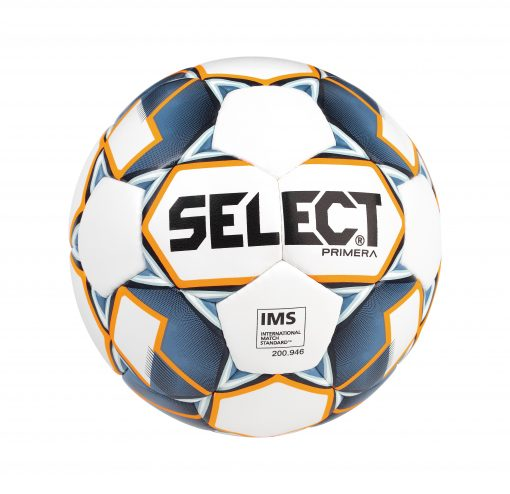 Ballon select primera football blanc bleu