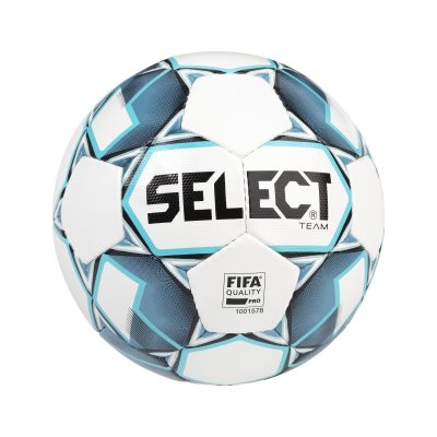 TEAM BALLON FOOT QUALITY PRO BALNC BLEU SELECT