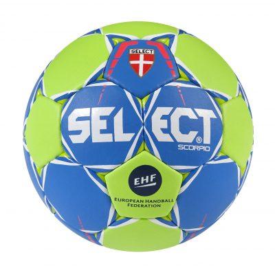 Ballon hand scorpio vert bleu