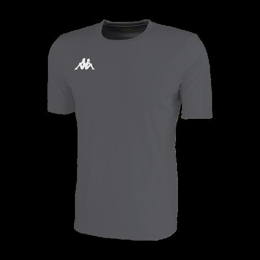 maillot uni gris foot hand futsal volley cricket kappa