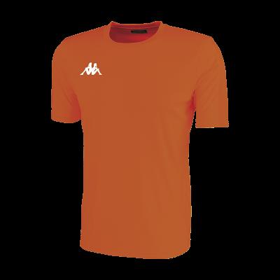 Orange fluo maillot futsal foot sport co cricket volley hand kappa rovigo