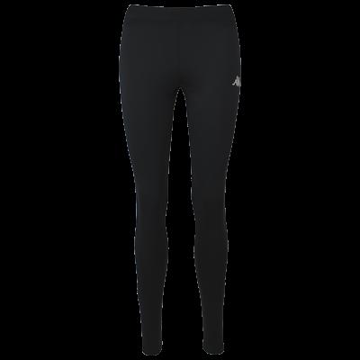 legging de course à pied kappa noir, running, trail, raid