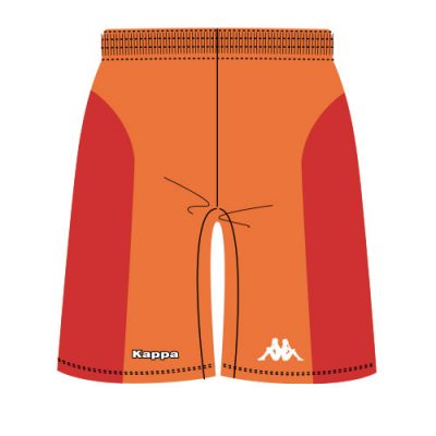 Short basket sublimé kappa, 100% personnalisable