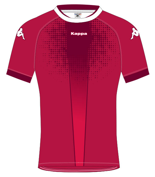 maillot rugby kappa baglio personnalisable