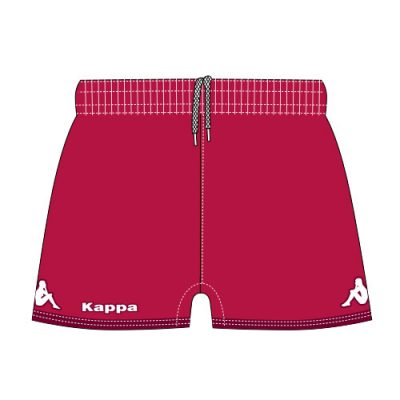 short rugby femme kappa, personnalisable
