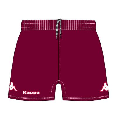 short rugby homme kappa personnalisable riolo