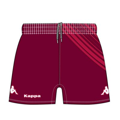 short toya personnalisable pour rugby by kappa