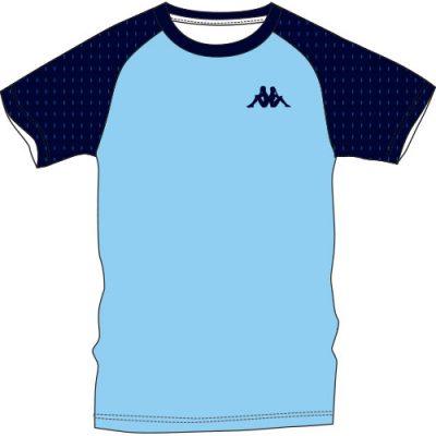 t-shirt unisexe running personnalisable kappa cario