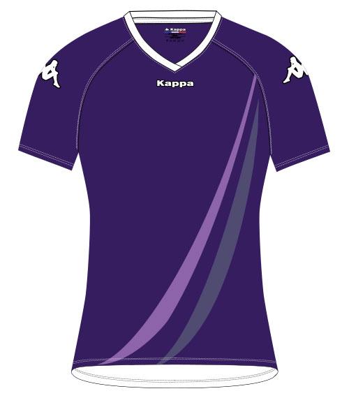 t-shirt volley personnalisable kappa