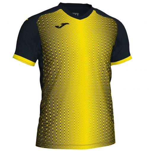 Maillot jaune noir Joma, hand, volley, foot, futsal