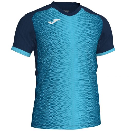 Maillot futsal Joma bleu turquoise marine