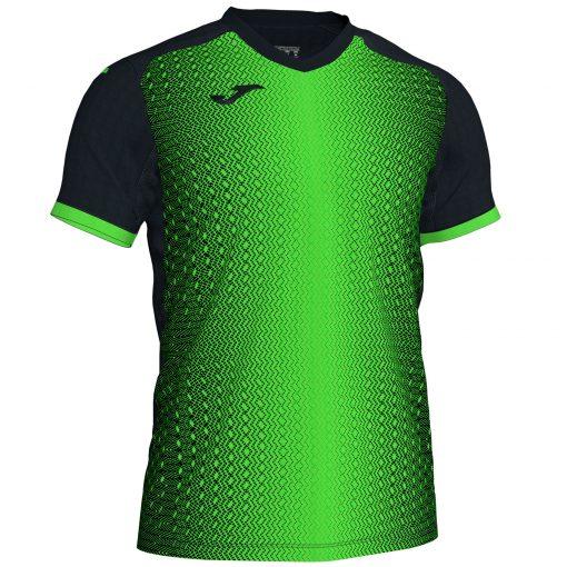 maillot futsal supernova vert fluo noir Joma