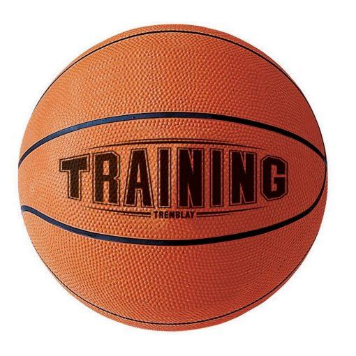 Ballon de basket taille 3 en caoutchouc