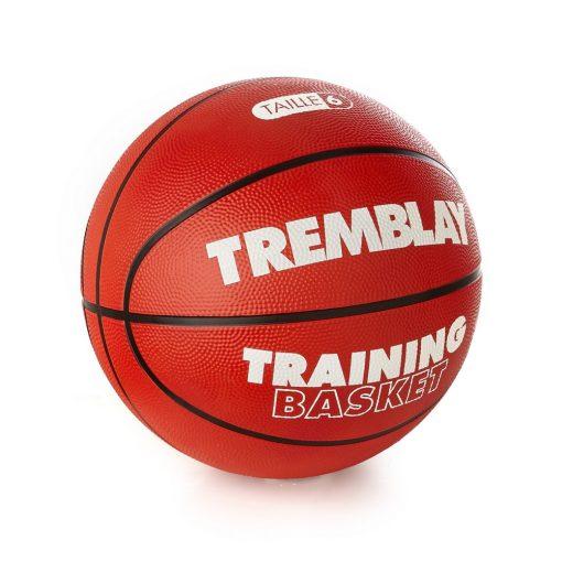 ballon taille 6 caoutchouc basket