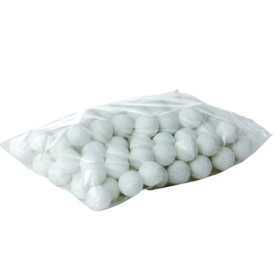 sachet de 90 balles de tennis de table blanches ou oranges