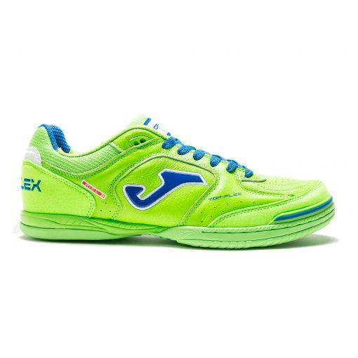 top flex, Joma, futsal, chaussures, jaune fluo