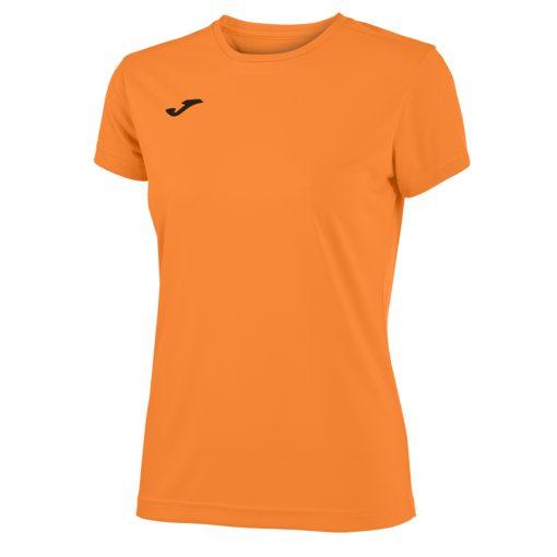 Maillot orange fluo foot futsal hand volley Joma