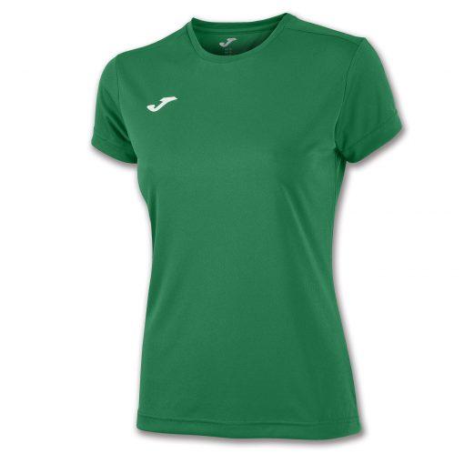 Maillot vert femme futsal foot hand volley