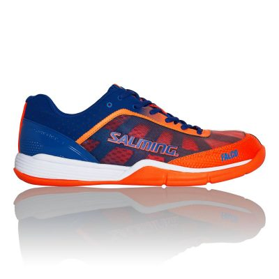 Chaussures Falco Orange bleu marine hand squash badminton