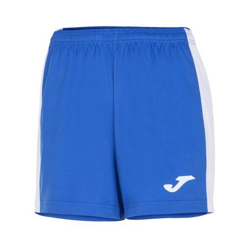 Bleu Royal short femme Joma MAxi futsal Foot Hand Volley