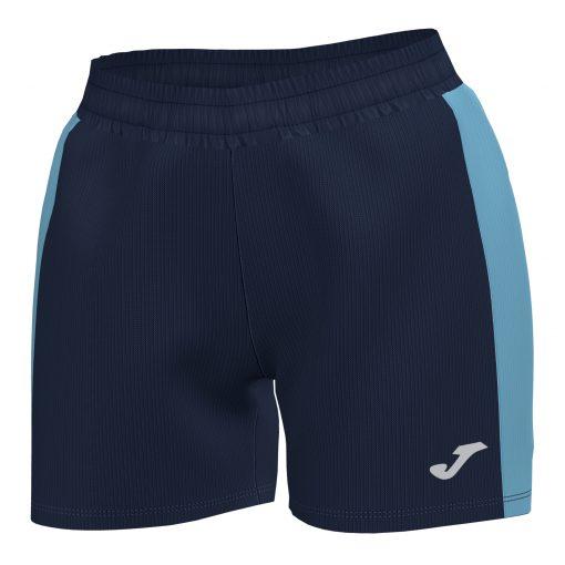 Short Maxi femme Joma marine turquoise foot hand volley futsal