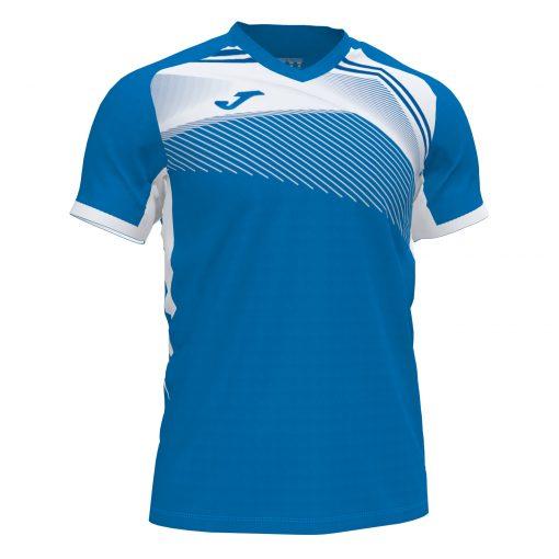 Maillot Joma futsal foot hand volley bleu blanc