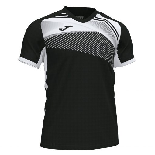 Maillot supernova II noir blanc Joma foot rugby futsal volley