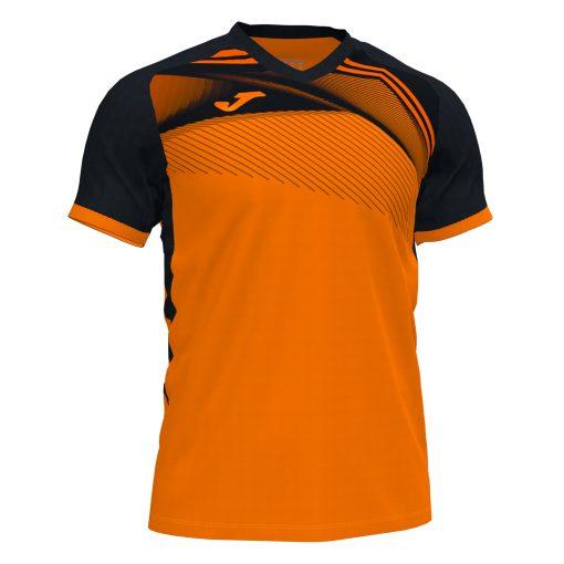 Maillot Orange noir futsal