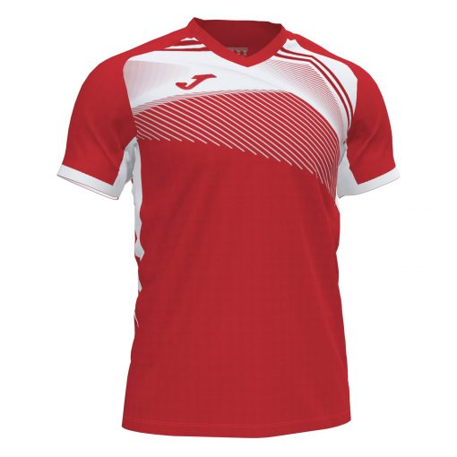 maillot rouge blanc Joma foot futsal volley